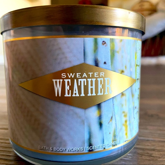 NEW Sweater Weather Candle